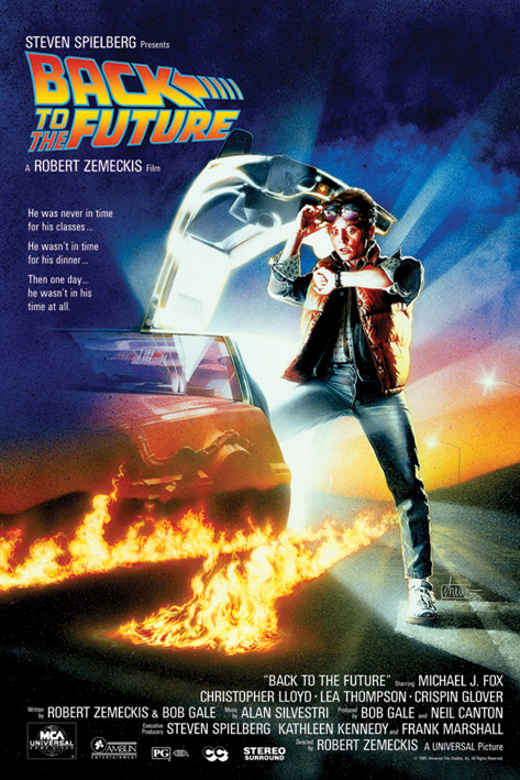 Back to the Future: One-Sheet Portrait Poster