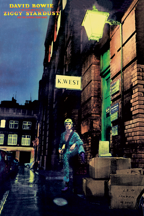 David Bowie: Ziggy Stardust Portrait Poster