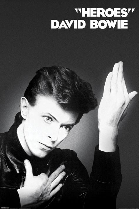 David Bowie: Heroes Portrait Poster