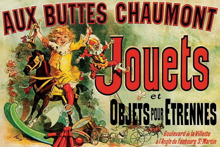 Jouets: As Seen on Friends Landscape Poster