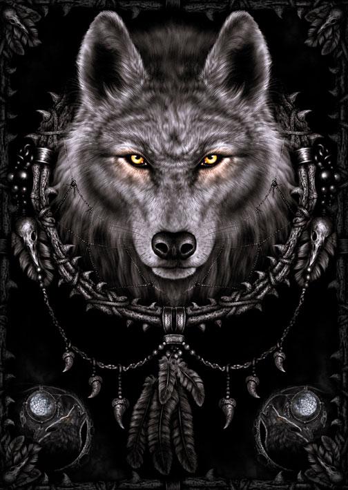 Spiral: Wolf Dreams Portrait Poster