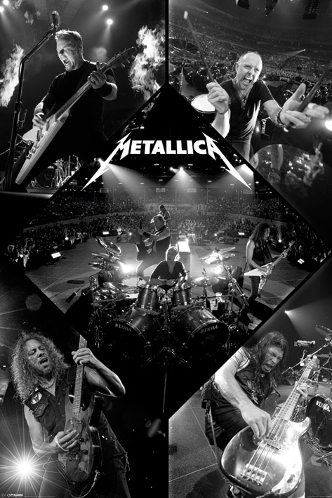 Metallica: Live Portrait Poster