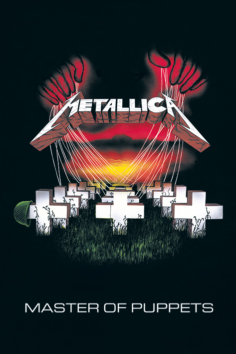 Metallica: Master of Puppets Portrait Poster