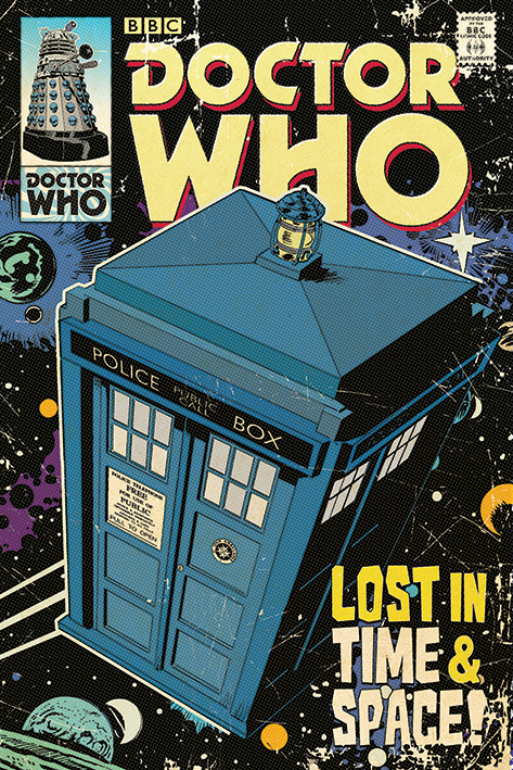 Doctor Who: Lost in Time & Space Portrait Poster