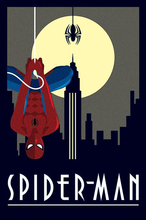 Marvel Deco: Spider-Man Hanging Portrait Poster