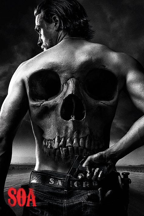 Sons of Anarchy: Skull Portrait Poster