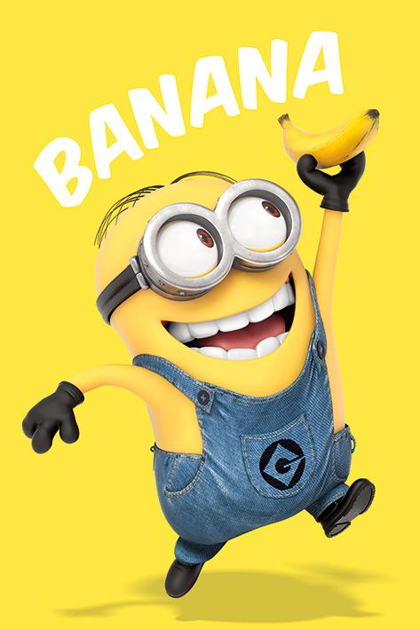 Despicable Me: Banana Portrait Poster