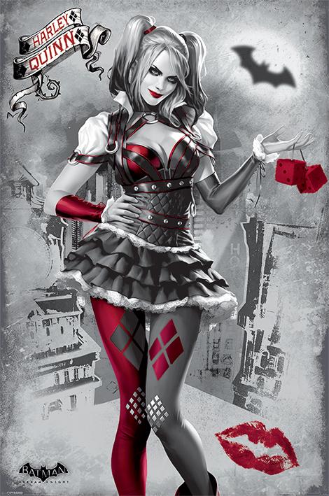 Batman Arkham Knight: Harley Quinn Portrait Poster