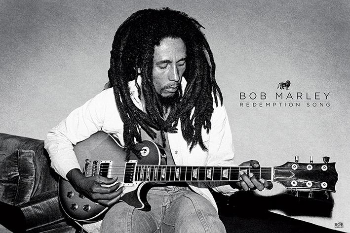 Bob Marley: Redemption Song Landscape Poster