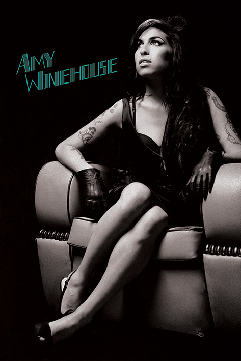Amy Winehouse: Chair Portrait Poster