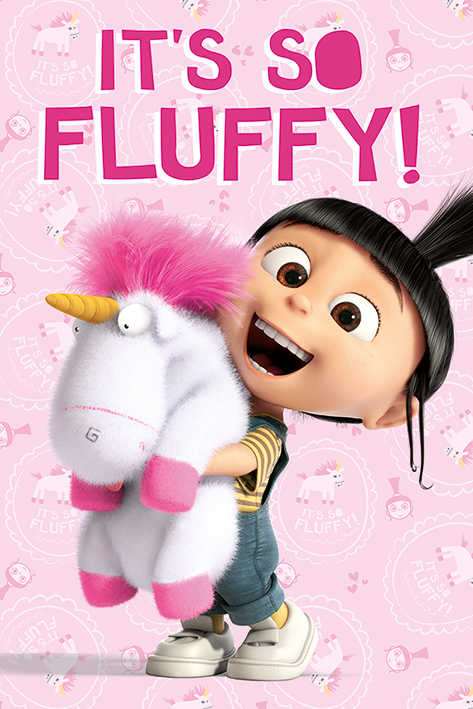 Despicable Me: It's So Fluffy Portrait Poster