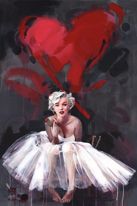 James Paterson: Paint Portrait Poster