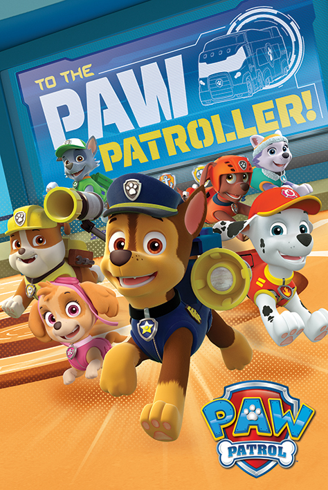 Paw Patrol: To The Paw Patroller Portrait Poster