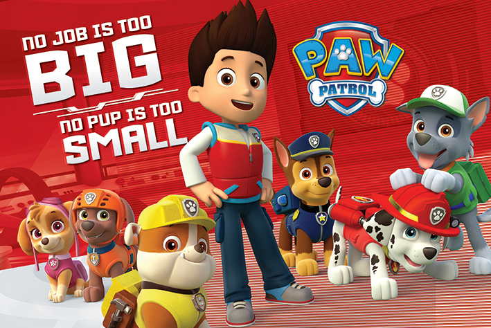 Paw Patrol: No Pup Is Too Small Landscape Poster