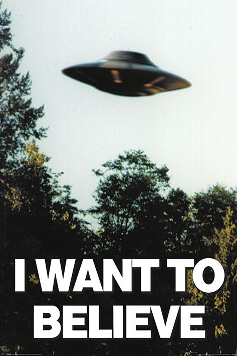 The X-Files: I Want to Believe Portrait Poster