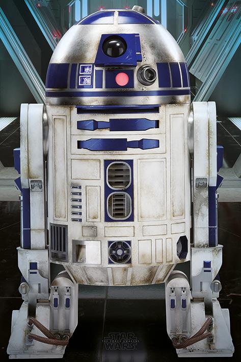 Star Wars Episode VII: R2-D2 Portrait Poster