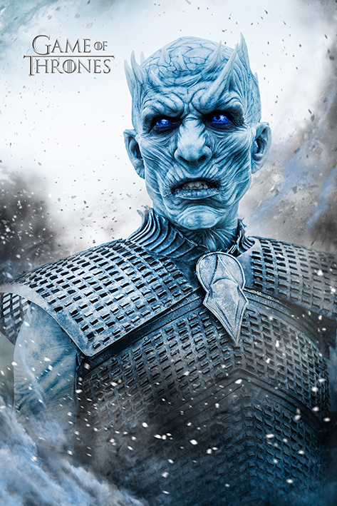 Game of Thrones: Night King Portrait Poster
