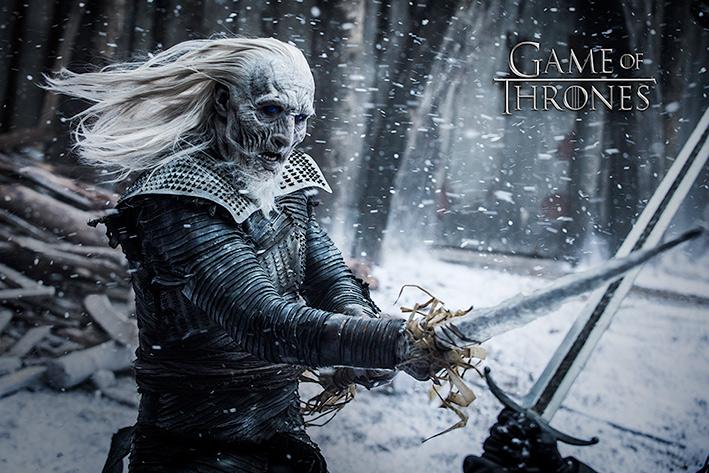 Game of Thrones: White Walker Landscape Poster