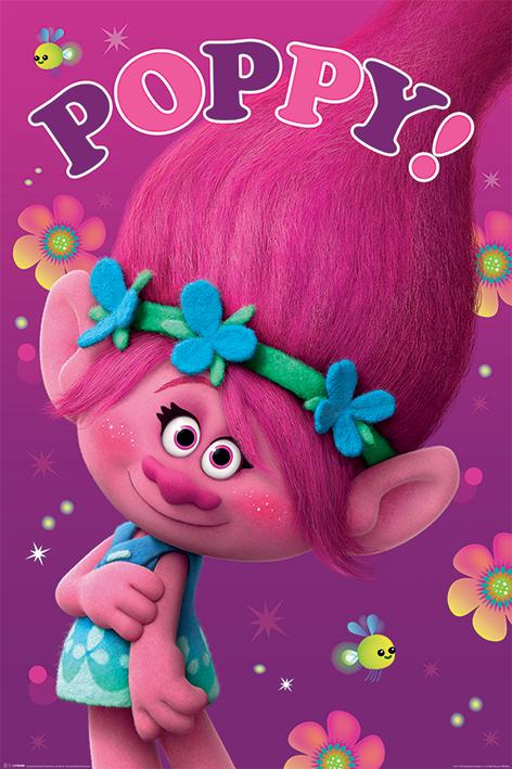 Trolls: Poppy Portrait Poster