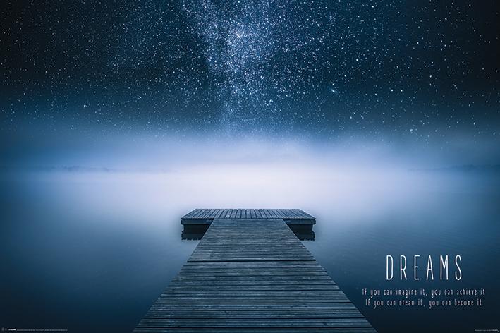 Dreams Landscape Poster