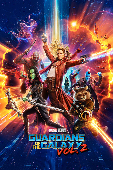 Guardians Of The Galaxy Vol. 2: One Sheet Portrait Poster