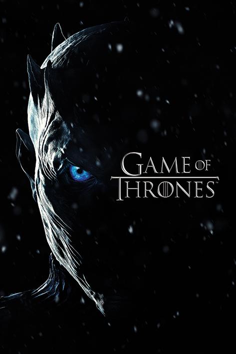 Game of Thrones: Season 7 Night King Portrait Poster