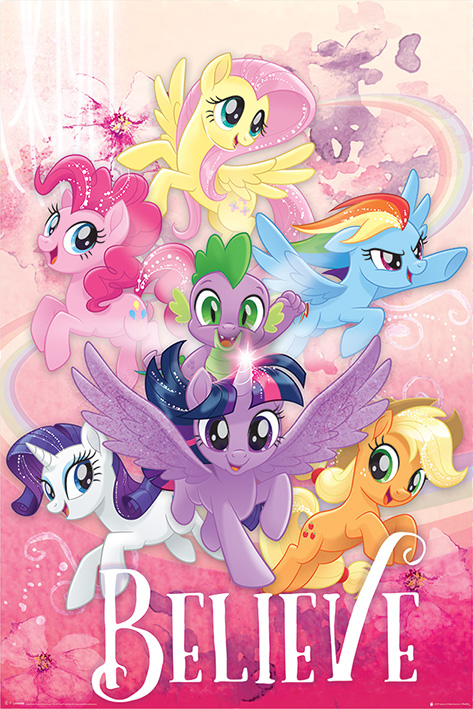 My Little Pony Movie: Believe Portrait Poster