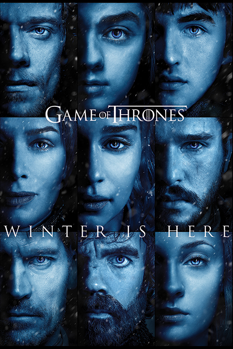 Game of Thrones: Winter is Here Portrait Poster