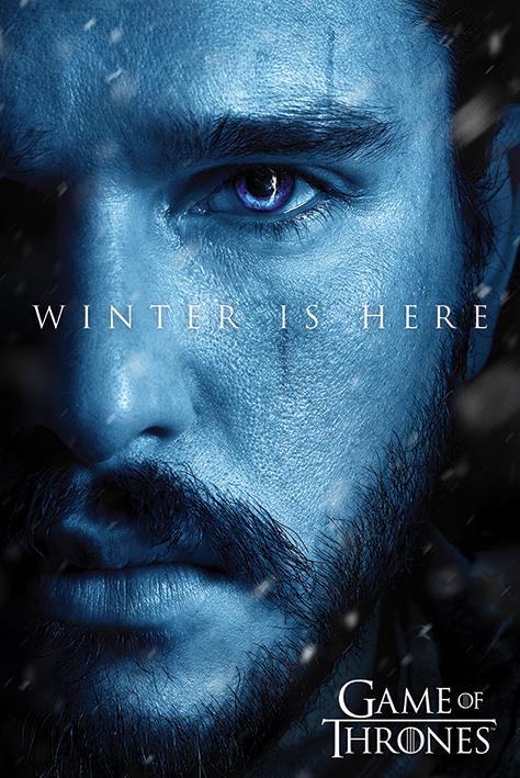 Game of Thrones: Winter is Here - Jon Portrait Poster