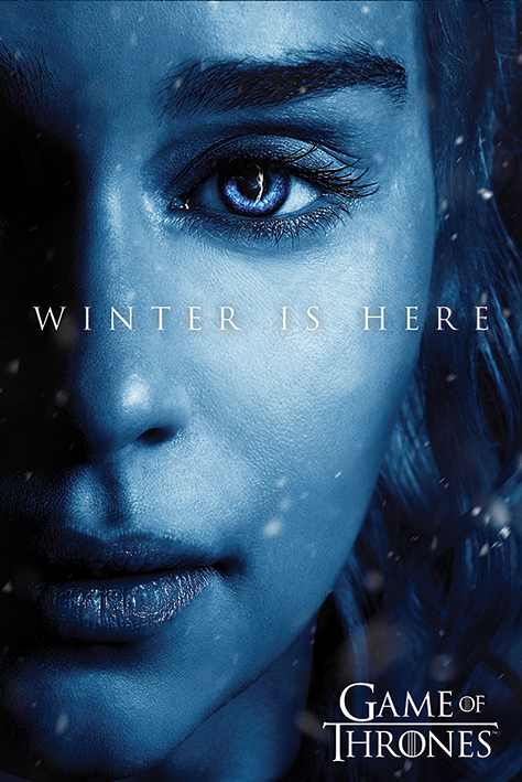 Game of Thrones: Winter is Here - Daenerys Portrait Poster