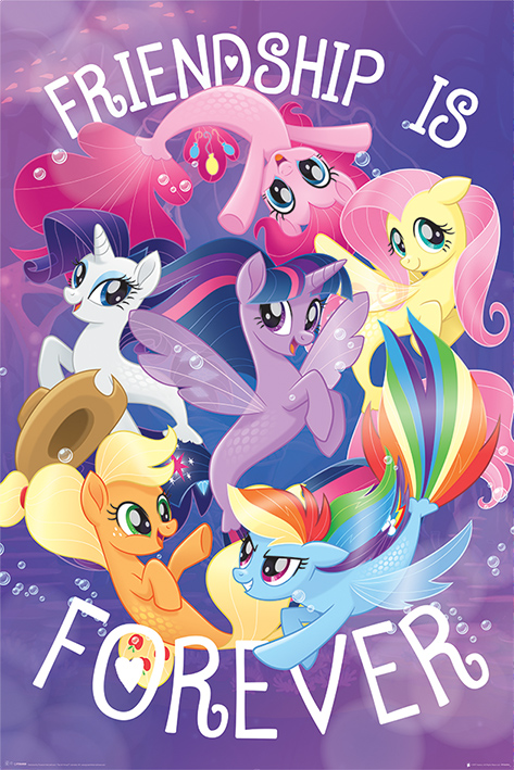 My Little Pony Movie: Friendship is Forever Portrait Poster