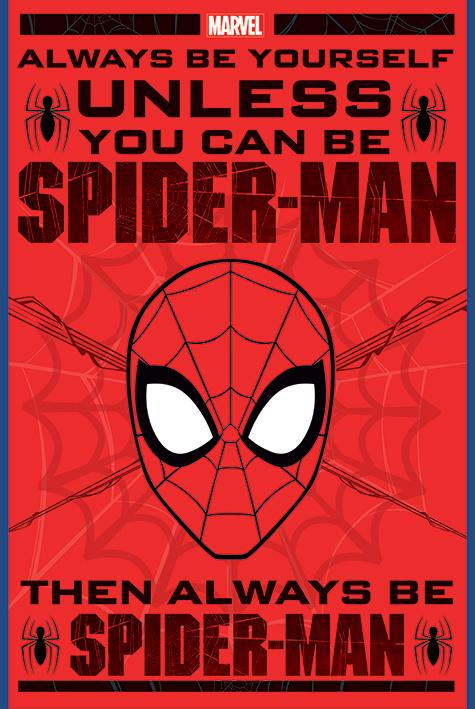 Spider-Man: Always Be Yourself Portrait Poster