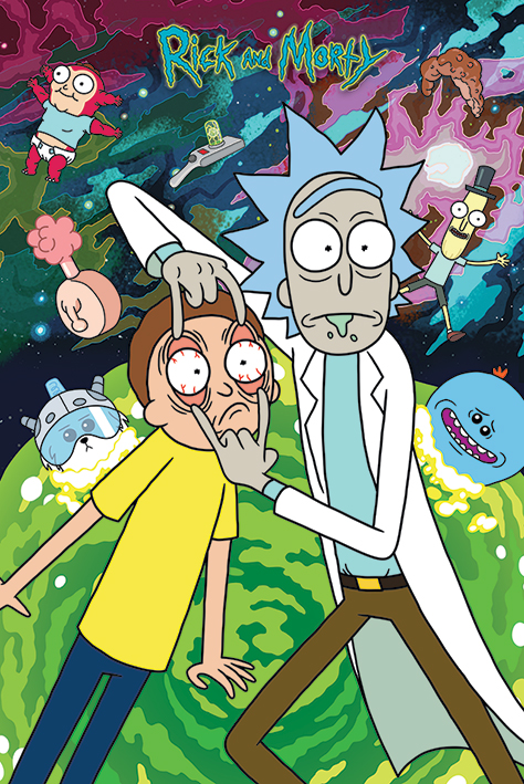 Rick and Morty: Watch Portrait Poster