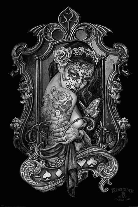 Alchemy: Widow's Weeds Portrait Poster