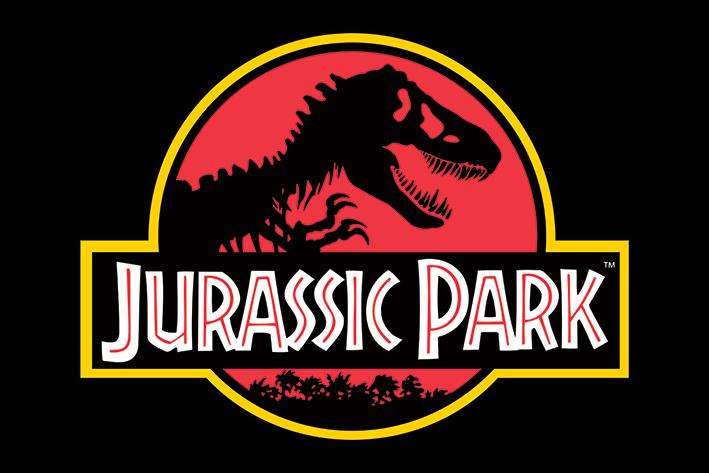 Jurassic Park: Classic Logo Landscape Poster