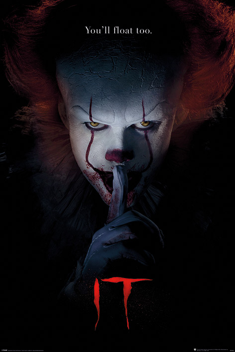 IT: Pennywise Hush Portrait Poster