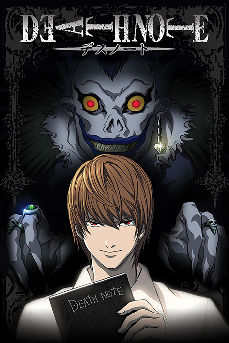 Death Note: From The Shadows Portrait Poster