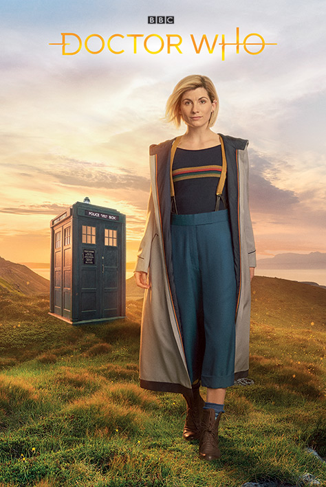 Doctor Who: 13th Doctor Portrait Poster