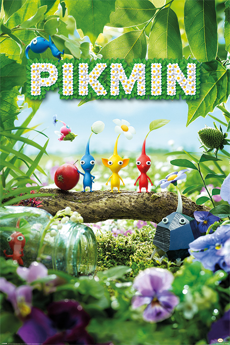 Pikmin: Characters Portrait Poster