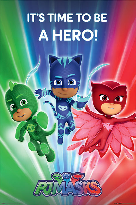 PJ Masks: Be a Hero Portrait Poster