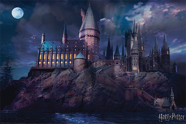 Harry Potter: Hogwarts Landscape Poster