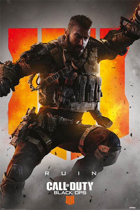 Call of Duty: Black Ops 4: Ruin Portrait Poster