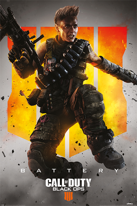 Call of Duty: Black Ops 4: Battery Portrait Poster