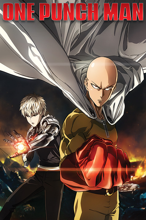 One Punch Man: Destruction Portrait Poster