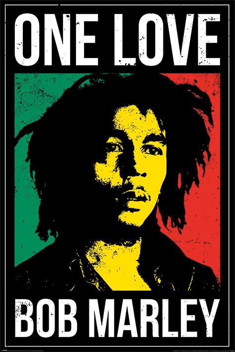 Bob Marley: One Love Portrait Poster