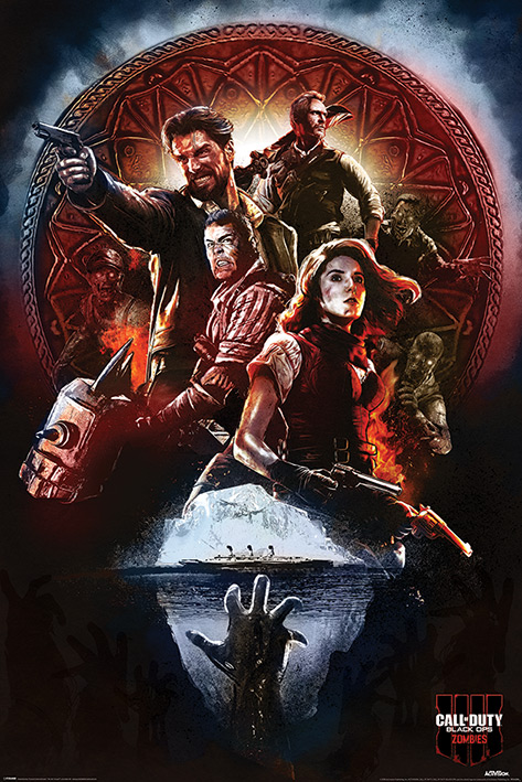 Call of Duty: Black Ops 4: Zombies Portrait Poster