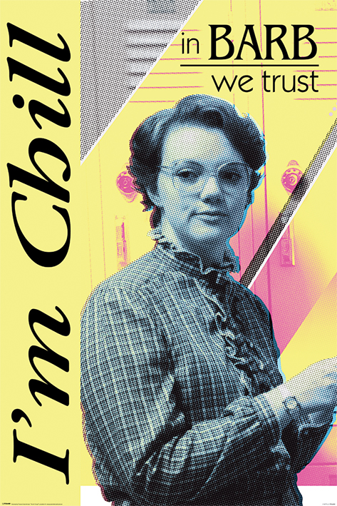 Stranger Things: In Barb We Trust Portrait Poster