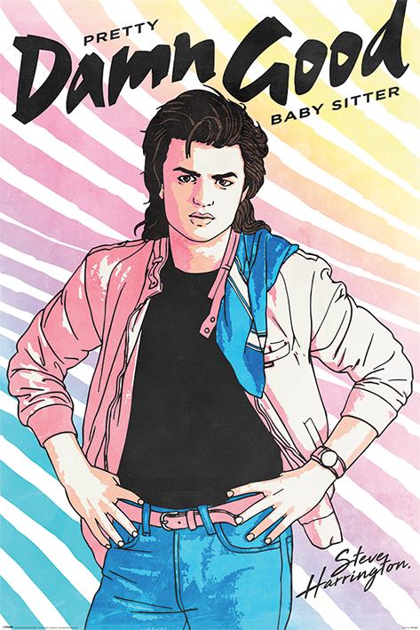 Stranger Things: Damn Good Babysitter Portrait Poster