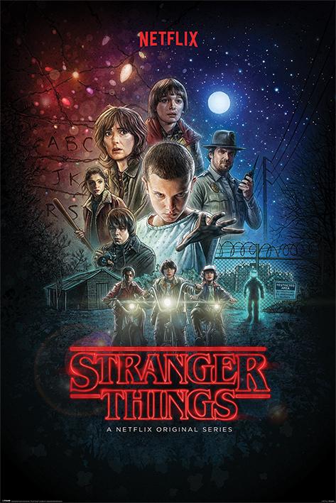 Stranger Things: One Sheet Portrait Poster