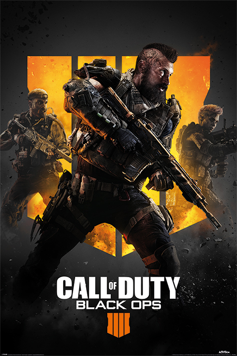 Call of Duty: Black Ops 4: Trio Portrait Poster